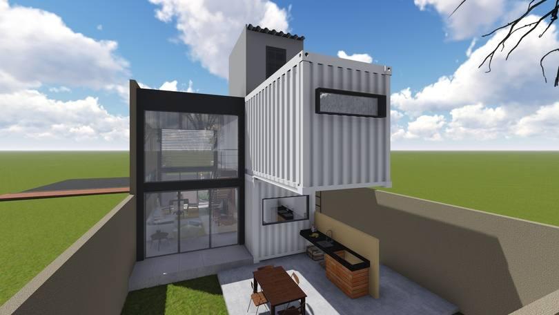 Containers viram casas com apelo moderno e pre os for Casas de container modernas