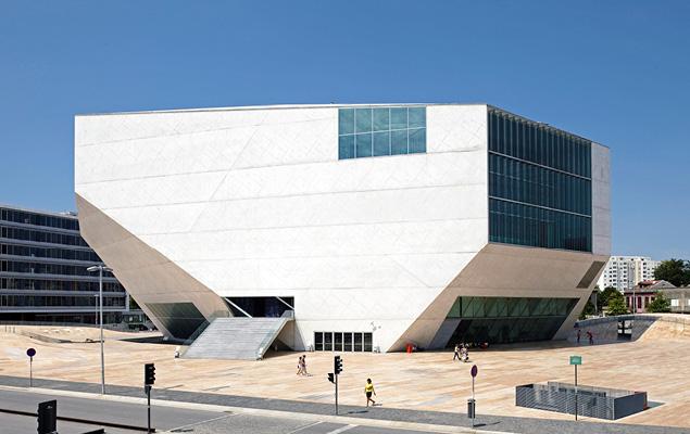 1197ed981ae2e A Casa da Música é a principal sala de concertos de Porto